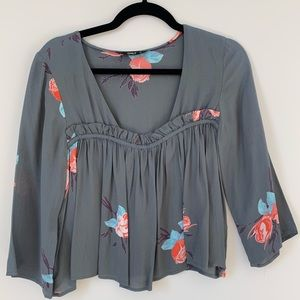Only Clothing Floral Blouse